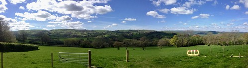 llandrindod wells wales panorama scenery view landscape countryside