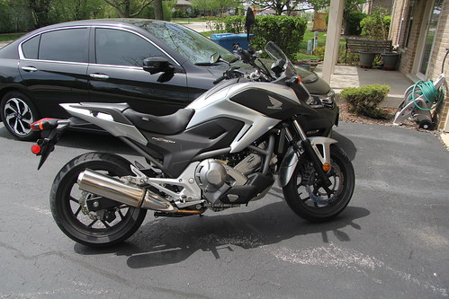 My 2012 Honda NC700X DCT ABS motorcyle Photo