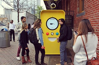 Snapchat Spectacles Vending Machine at SXSW 2017 | by justraveling.com