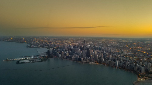 Chicago at sunset | by brylek6