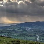 Road, hills & sky