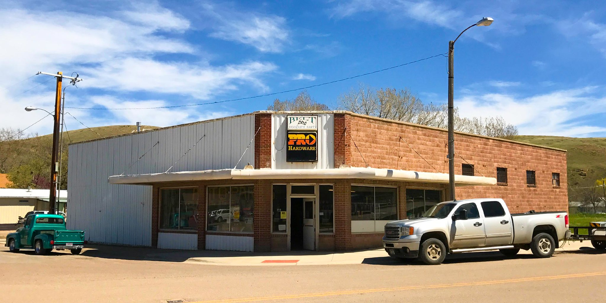 Hardware store located in Belt, Montana in Cascade County.