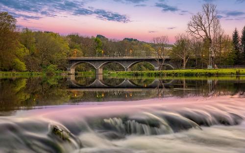 6d aberdeen bridge don persleybridge cloudy river canon clouds colour darrenwright dazza1040 eos infinity longexposure scotland sunset persleybridgecloudy