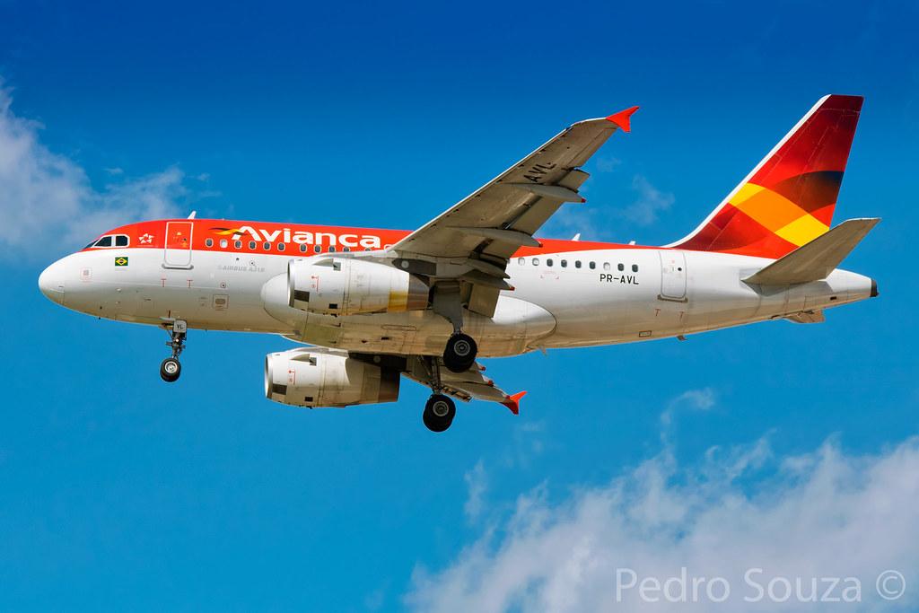 PR-AVL Airbus A318-122 Avianca Brasil - cn 3214