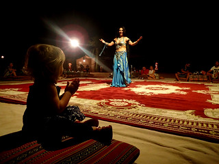 2017 - UAE - Excursion - Belly Dancer - Paige Watching | by SeeJulesTravel
