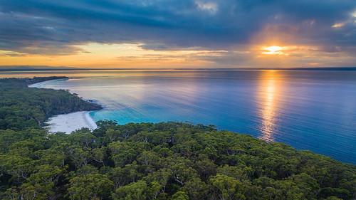 australia nsw drone jervisbay nelson greenfields vincentia newsouthwales au