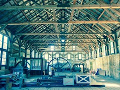 Compressor Building, Empire Mine State Historic Park