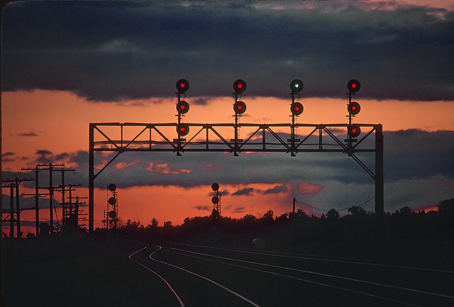 Sunset and Signals
