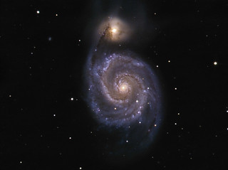 M51-LRGB | by Mathieu Levêque