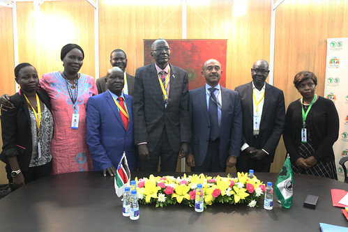 Ceremony of Agreement between AfDB and South Sudan, AM 2017