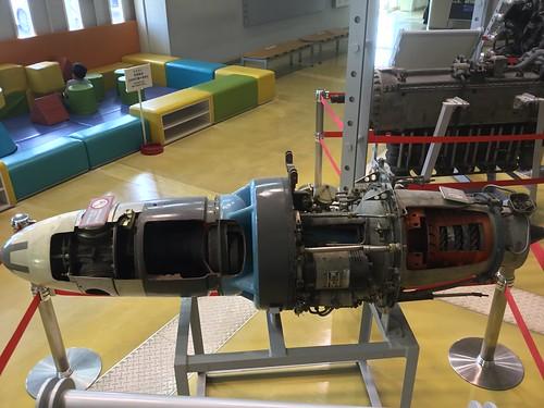 航空館boon 展示資料 ターボプロップエンジン カットモデル IMG_1040