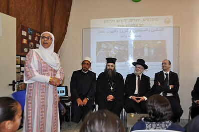Israel-2017-03-28-Jerusalem Interfaith Forum Members Speak at High School in Acre