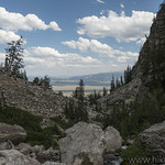 Jackson Hole from Garnet Canyon