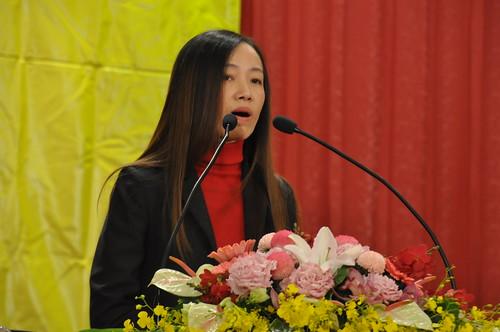 圖06勞動部勞動關係司黃琦雅專門委員致詞