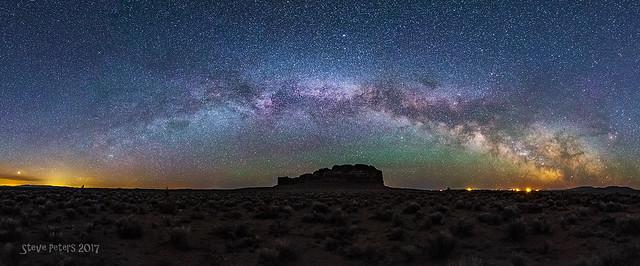 Fort Rock Milky Way