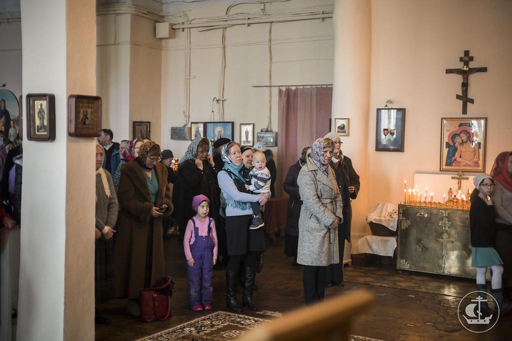 23 Апреля 2017, Антипасха. Литургия в храме завода имени Кирова / 23 April 2017, Anti-Pasha. Liturgy in the church of the factory in the name of the Kirov
