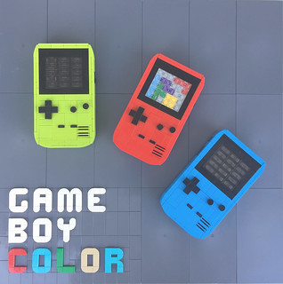 Game Boy Color out of LEGO bricks | by -derjoe-