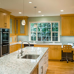 Open Plan Kitchen, Private Residence, Palo Alto, CA Created for Harrell Remodeling
