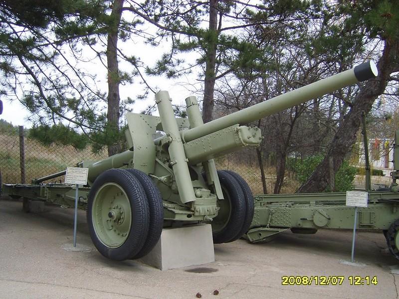 122mm Gun А-19 1