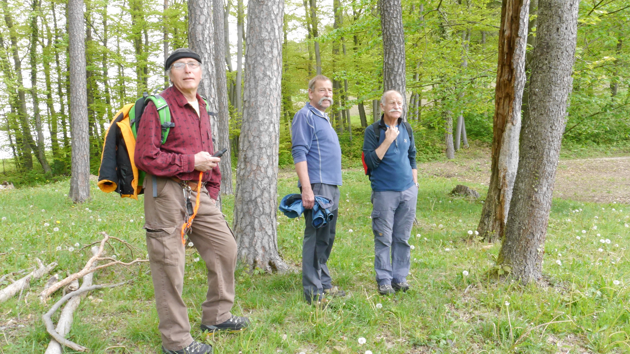 Seniorenwanderung Hersberg - Alpbad Sissach 04.05.2017