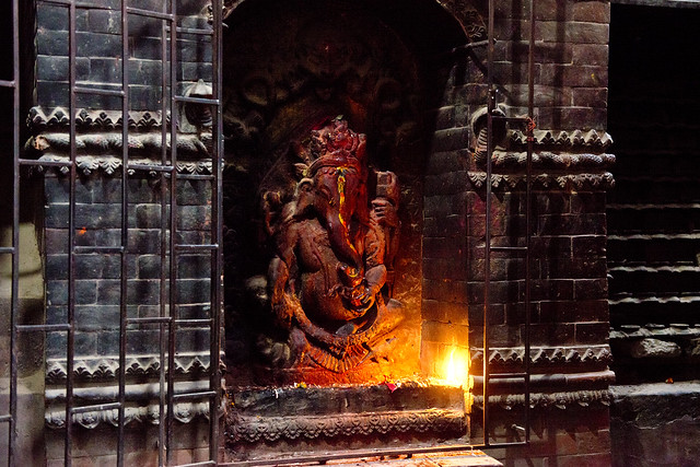 NPL - Ganesha shrine - Patan