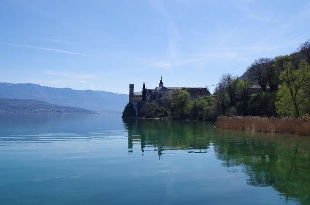 l'abbaye de hautecombes ( lac du bourget)