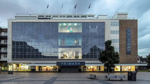 Primark, Broadgate Coventry.  (Architects: Rolf Hellberg & Maurice Harris 1954-55)