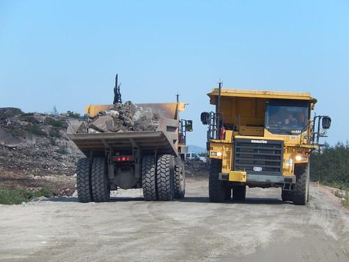 Labrador Highway - wegwerkzaamheden