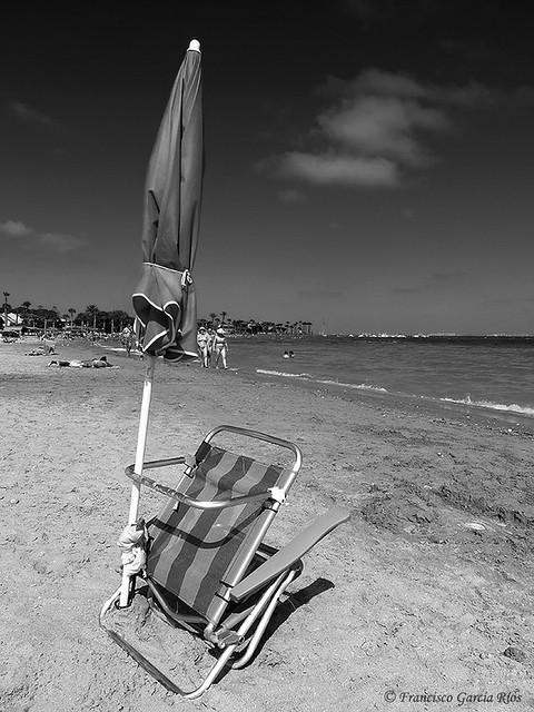 Una tarde de playa en Los Narejos (y IV)
