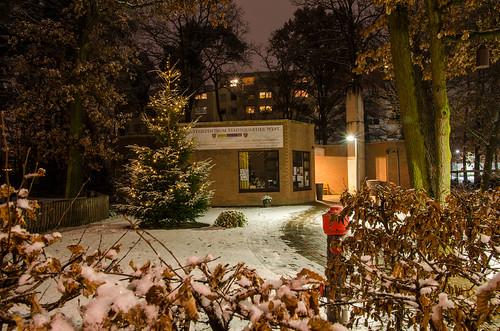 winterliches Stadtquartier 1