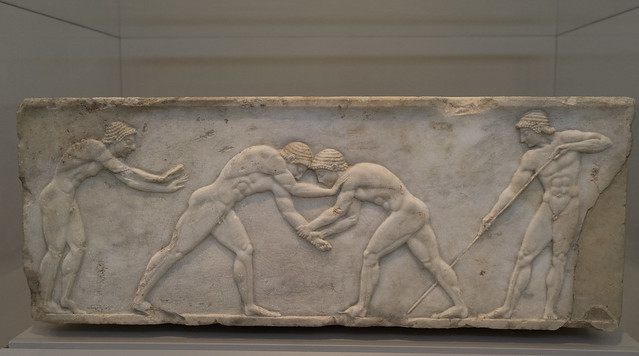 Funerary Base for an Athlete - I