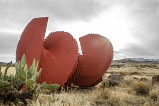 desert red spiral