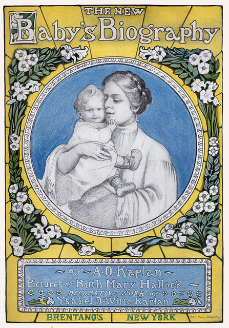 Title page 1891, 1908 Ruth Mary Hallock