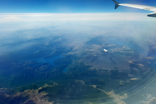 chile andes earthfromabove landscape volcano lanin nature cloud wing airplane