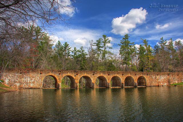 Byrd Creek Dam - Cumberland Mountain State Park - Cumberland County, Tennessee