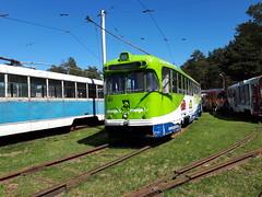 Daugavpils RVR tram 063 scrap line