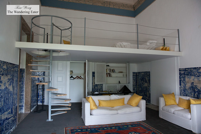 Loft-like style space at Amadeo de Souza Cardoso Suite