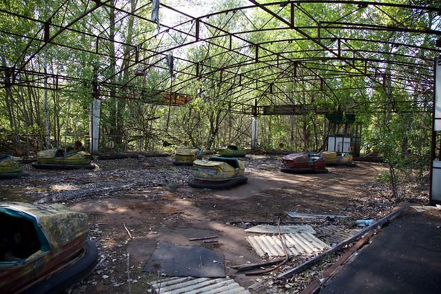 Bumper Cars, Abandoned Pripyat Amusement Park