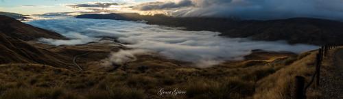 morning sunrise cloud sun mountains sky grass cardrona valley landscape goldenhour