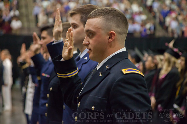 Texas A&M Commissioning Ceremony 2017