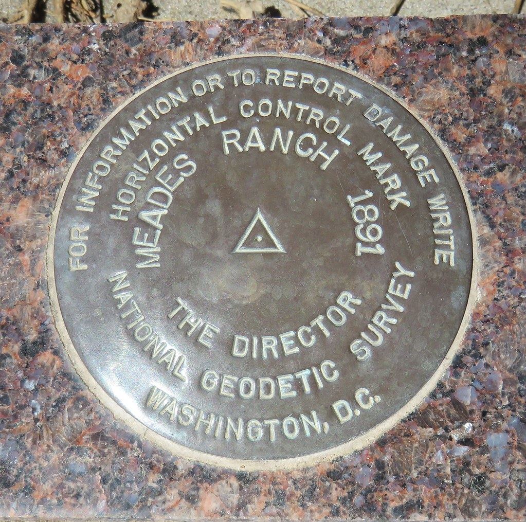 Geodetic Center of North America Benchmark (Osborne, Kansa
