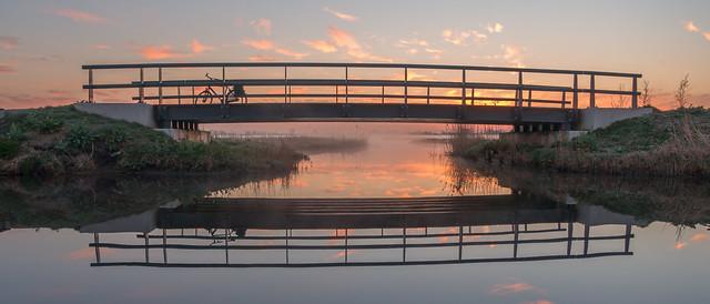 Bike and bridge