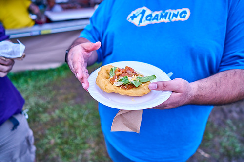 Food on Day 4 of Jazz Fest 2017 - May 4. Photo by Eli Mergel.