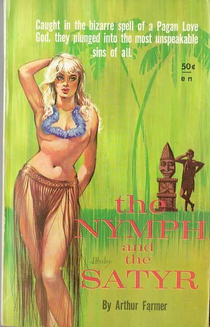 The Nymph and the Satyr by Arthur Farmer