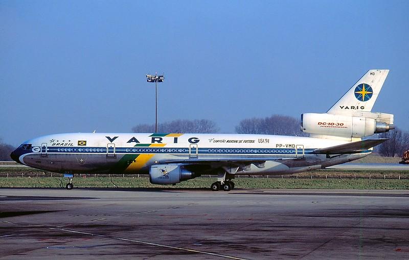 "Varig McDonnell Douglas DC10-30 ""USA94"" c/s PP-VMD"