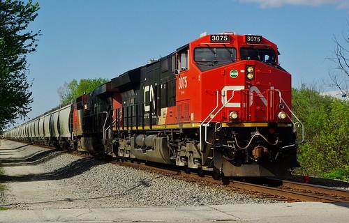 cn canadiannational eje bartlettil train railroad locomotive ge et44ac 34wedgie