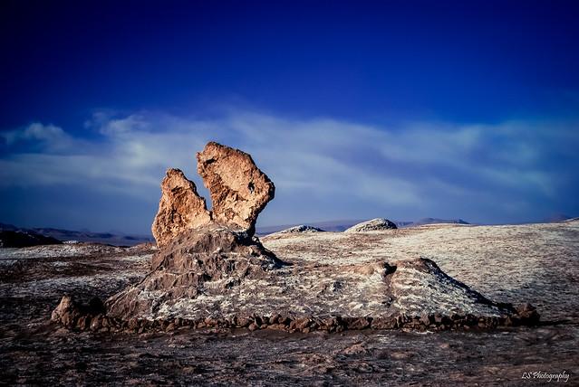Through the desert pinhole