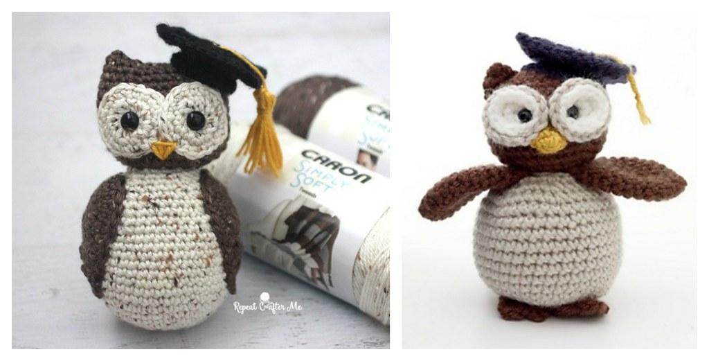 Cute Owl Free Crochet Pattern | Amigurumi modelleri, Serbest örgü ... | 521x1024