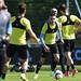 Celta y United se entrenan antes de la semifinal