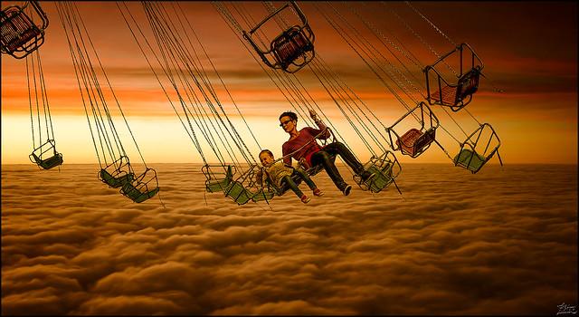 To the sky so near.......